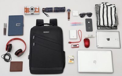 Smart Travelling with Anti-Theft Backpack